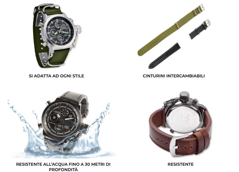 Caratteristiche di Xtechnical Watch