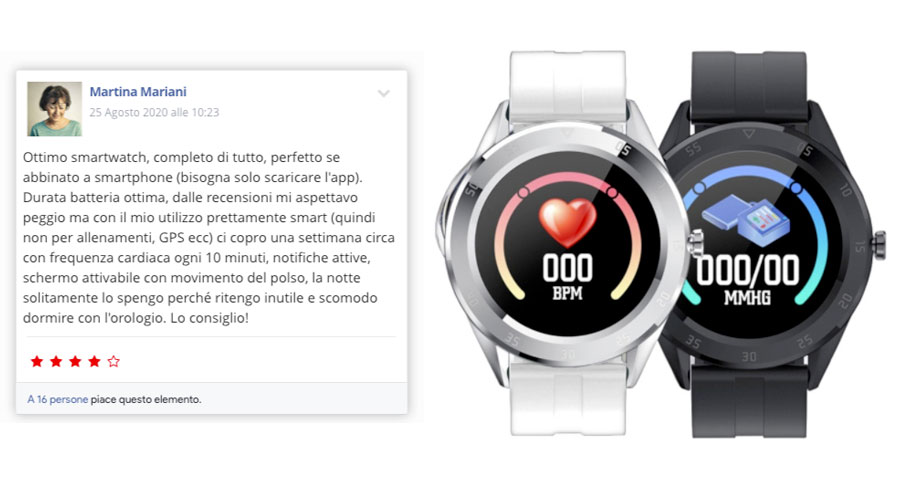 Recensioni su C10 Xpower Smartwatch