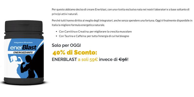 Prezzo di Enerblast