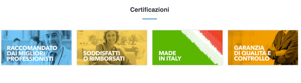 certificazioni di Enerblast