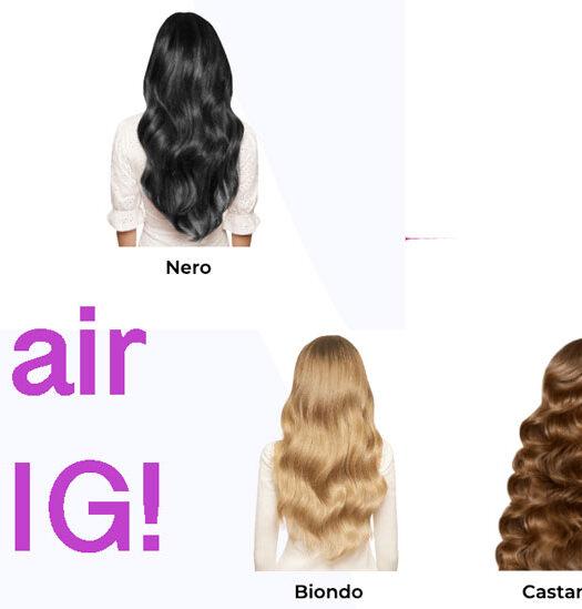 parrucca invisibile Hair Wig
