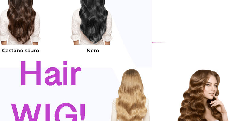 parrucca invisibile Hair Wig