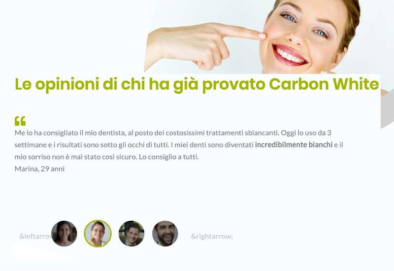 Opinioni dei clienti su Carbon White